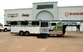 Johnson S Of Kingfisher Horse Trailer Dealer Oklahoma Livestock